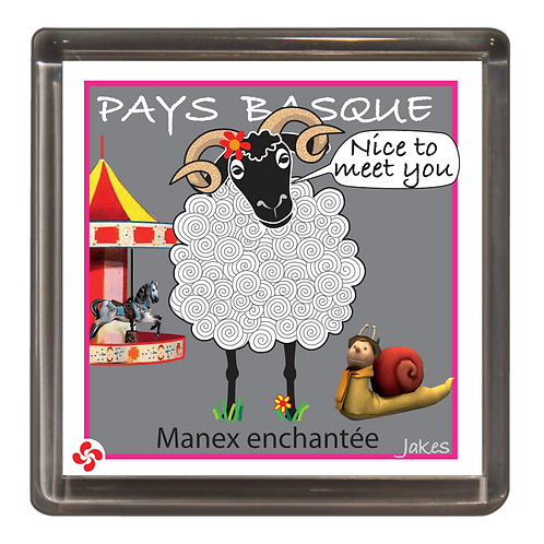 """Manex enchantée"" Magnet"