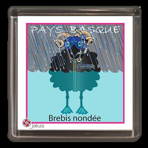 """Brebis nondée"" Magnet"