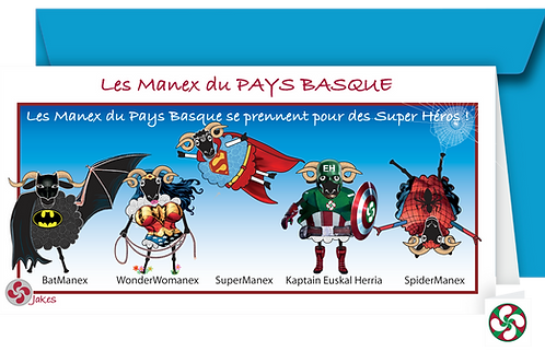 """Super Héros"""" Carte panoramique"