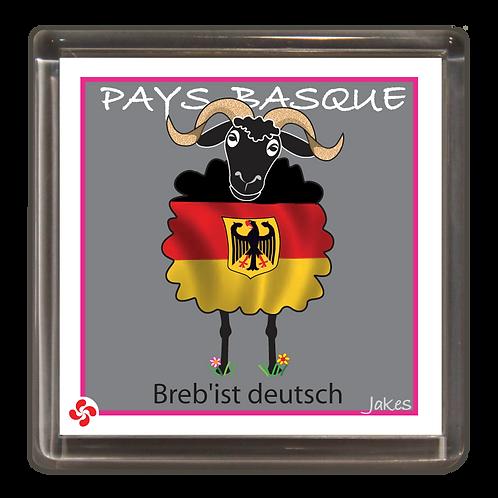 """""""Breb'ist deutsch"""" Magnet"""