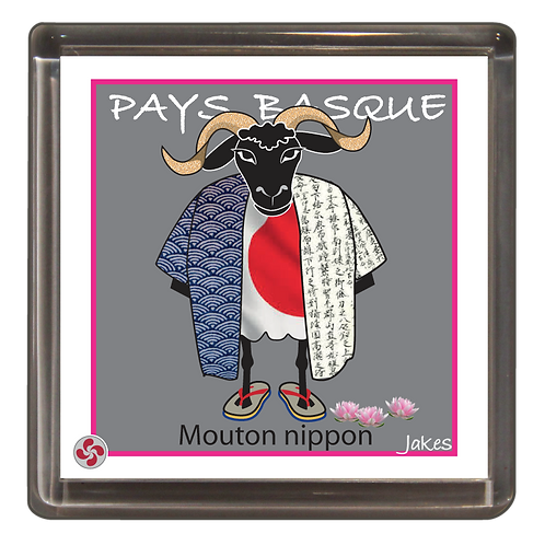 """Mouton nippon"" Magnet"
