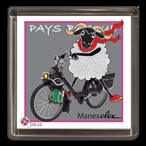"""Manexolex"" Magnet"