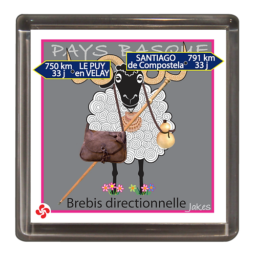 """Brebis directionnelle"" Magnet"
