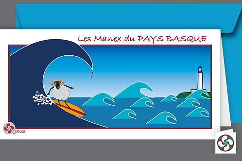 """Big Wave"" Carte panoramique"