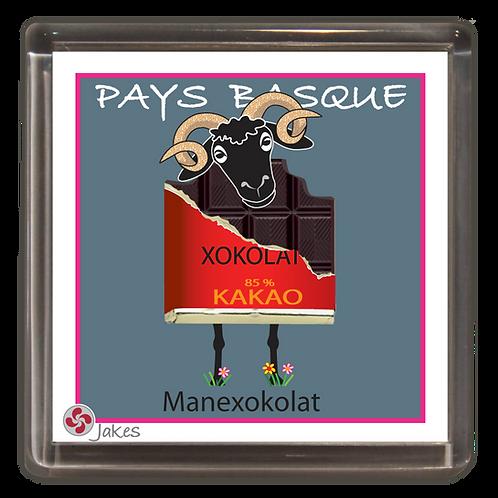 """Manexokolat""  Magnet"
