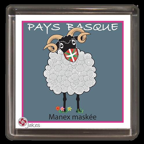 """""""Manex maskée""""  Magnet"""