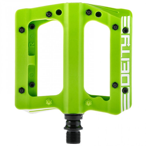 Deity Compound Pedals Green