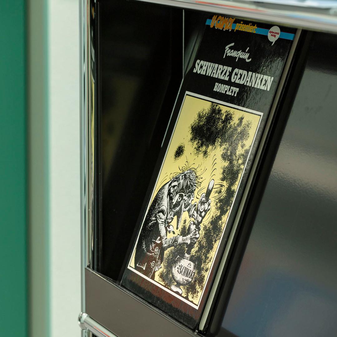"""Comic """"Schwarze Gedanken"""""""
