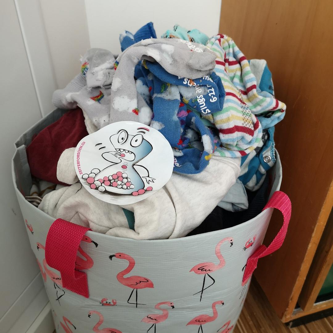 Zeitfresser Wäsche waschen