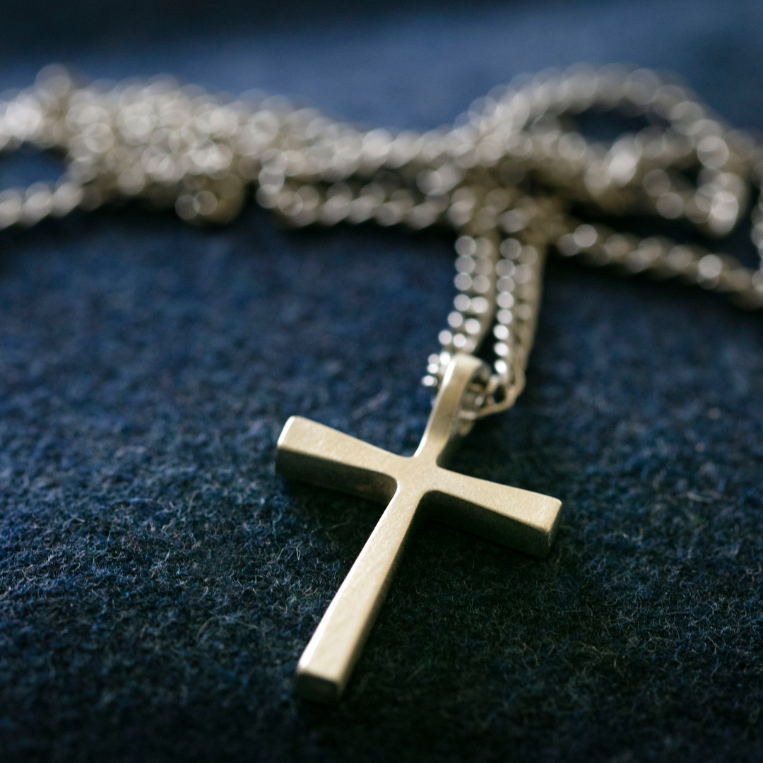 Kreuz Halskette