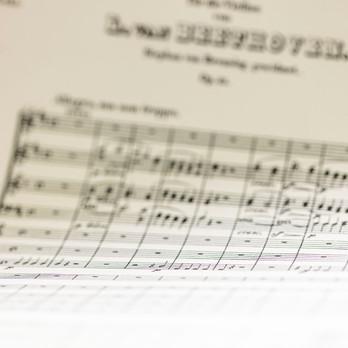 Herzschlag (Violinkonzert D-Dur 1. Satz von L. van Beethoven)