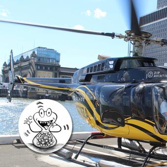 Mein erster Hubschrauberflug