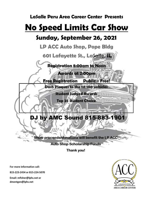No Speed Limits Car Show