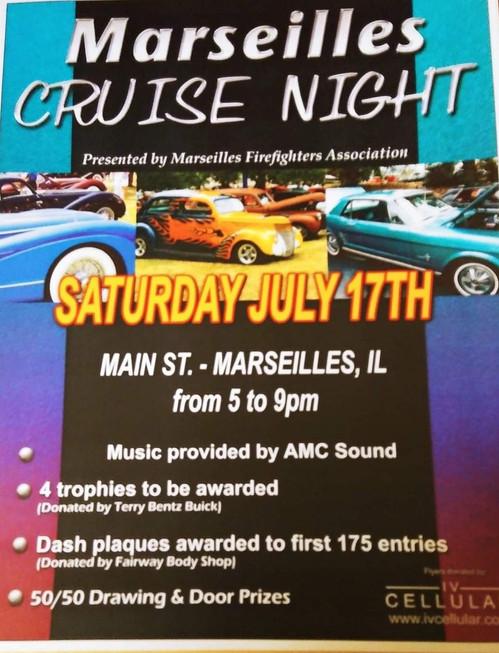 Marseiles Cruise Night