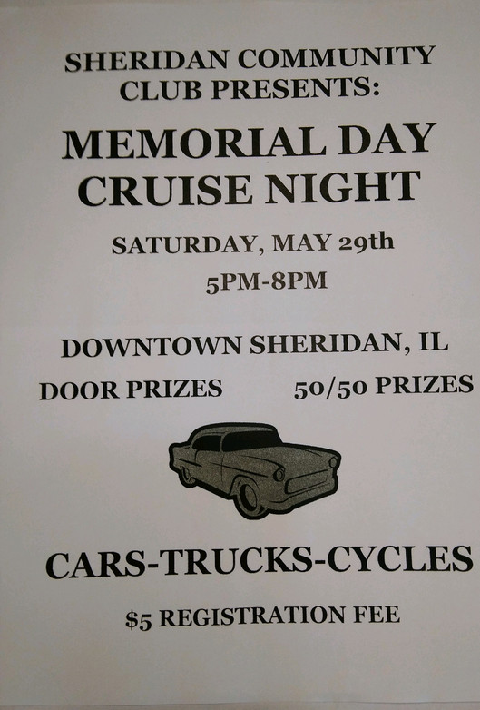 Memorial Day Cruise Night
