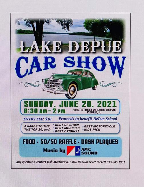 Lake Depue Car Show