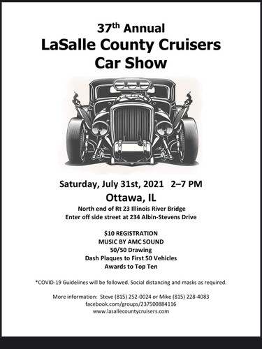37th Annual Lasalle County Car Cruisers Car Show