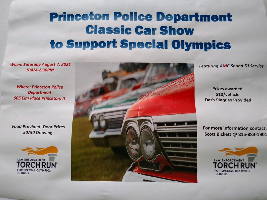 Princeton Police Department Classic Car Show