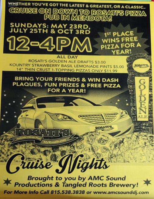Rosati's Cruise Night