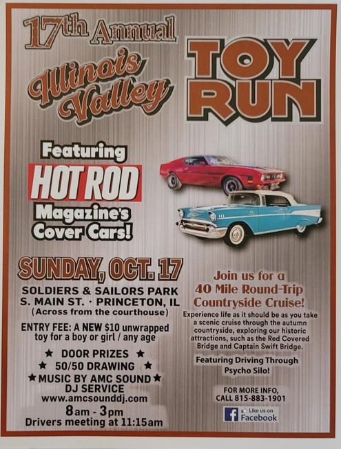 17th Annual Illinois Valley Toy Run