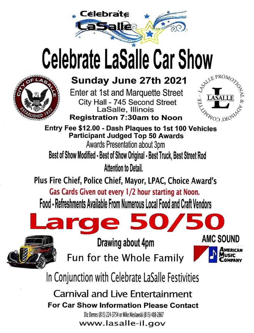 Celebrate Lasalle Car Show
