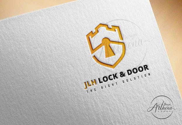Logo design_JLHLock&Door