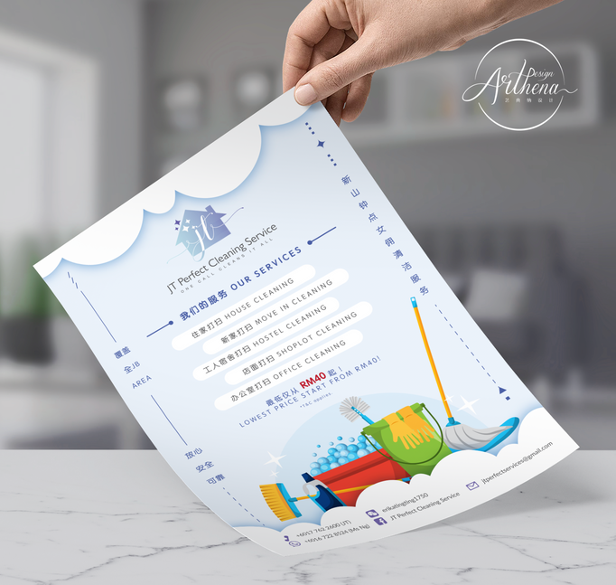 JT Cleaning Flyer