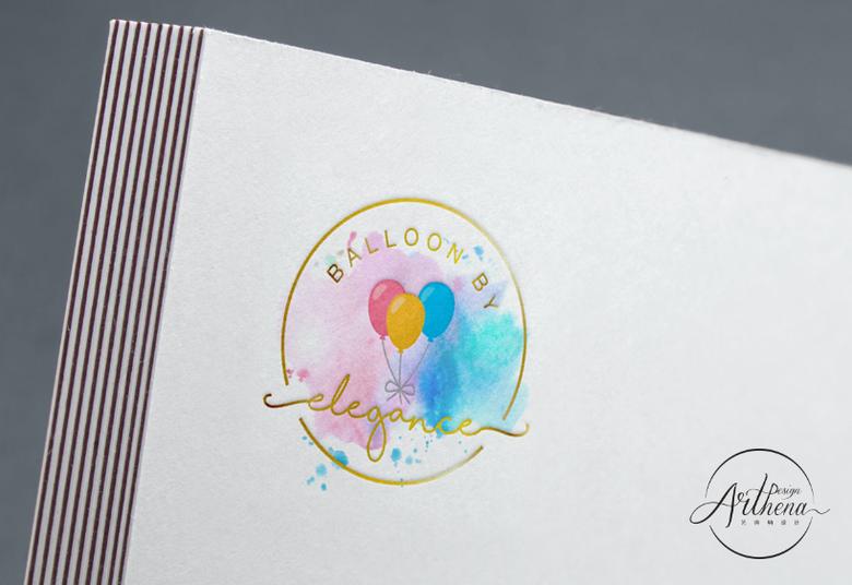 Balloon By Elegance - Logo Design