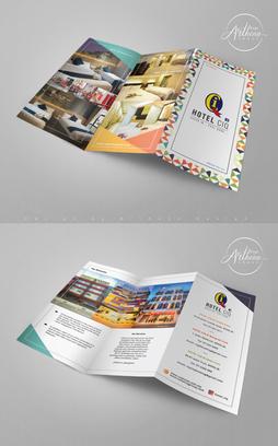 Hotel CIQ - Brochure Design
