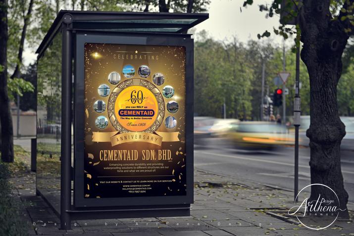 Cementaid - Newspaper Ads Design