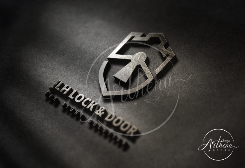 Logo design_JLHLock&Door2
