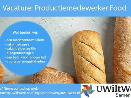 Productiemedewerker Food