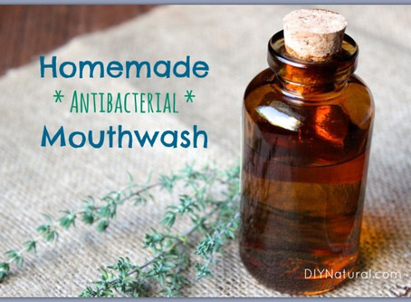 Essential Oil Mouthwash