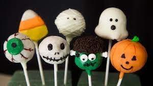 Kid's Halloween Cake Pops