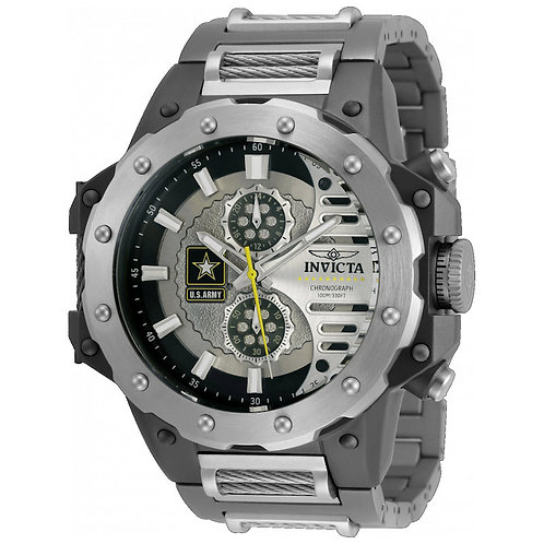 Invicta 32986 US Army GMT Titanium
