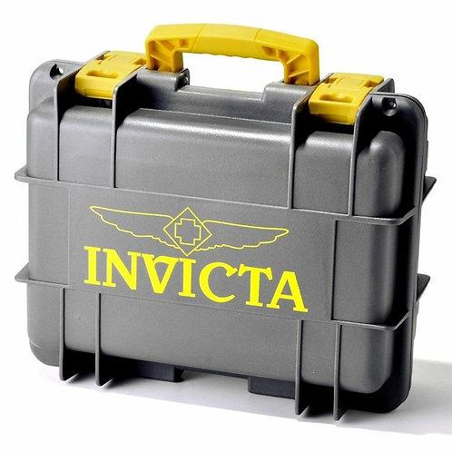 Кейс Invicta серый - желтый