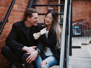 Emily & Andrew | Hamilton Couple Session
