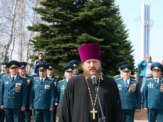 Настоятель храма принял участие в торжественном мероприятии по принесению клятвы кадетами