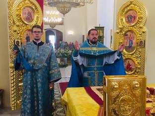 УспениеПресвятой Владычицы нашей Богородицы и Приснодевы Марии,