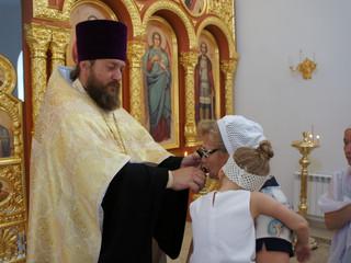 В храме состоялся Молебен о начале учения