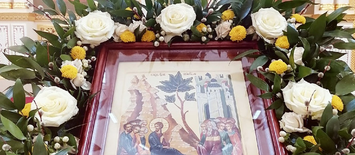 Неделя ва́ий, Вход Господень в Иерусалим. Божественная Литургия.