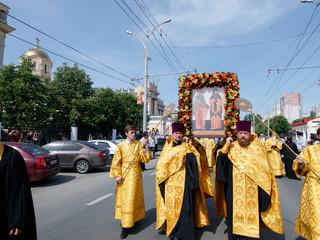 24 мая,  день памяти святых равноапостольных Мефодия и Кирилла, учителей Словенских