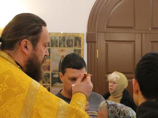 Божественная литургия в Неделю 30 по Пятидесятнице св. отец