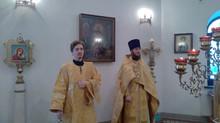 Богослужение в Неделю 34-ю по Пятидесятнице