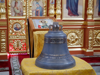 Освящен колокол для звонницы храма
