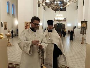 Канун Недели 33-й по Пятидесятнице. Всенощное бдение.