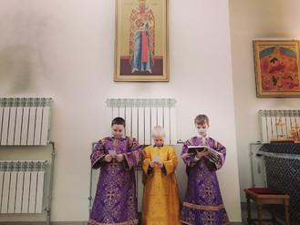 Неделя 1-я Великого поста, Торжество Православия. Божественная Литургия.