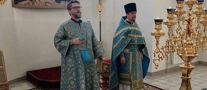 Суббота Ака́фиста, Похвала́ Пресвятой Богородицы