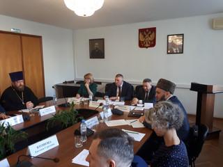 Настоятель храма принял участие в коллегии Министерства внутренней политики