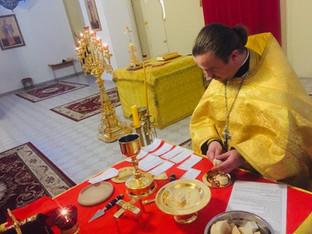 День памяти мучеников и исповедников Гурия, Самона и Авива. Божественная Литургия.